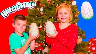 getlinkyoutube.com-ASSISTANT and BATBOY Hatchimal CHristmas Surprise With Paw Patrol + PJ Masks Holiday Toys Video