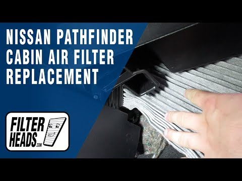 How to Replace Cabin Air Filter 2017 Nissan Pathfinder