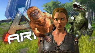 SHOULDER BUDDIES - Taming a Mesopithecus - ARK: Survival Evolved #11