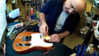 getlinkyoutube.com-Harley Benton Telecaster KIT build, upgrade and set up part 1