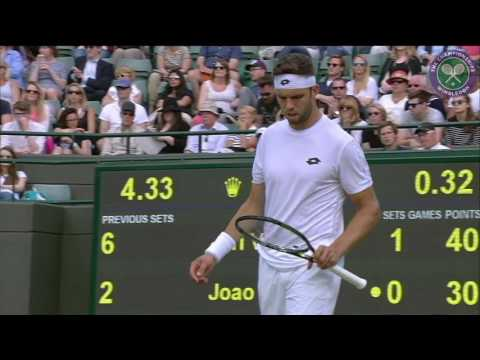 2016, Middle Sunday Highlights, Jiri Vesely vs Joao Sousa
