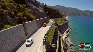 Gioiosa Marea - Riapertura della SS 113 località Capo Skino - www.canalesicilia.it
