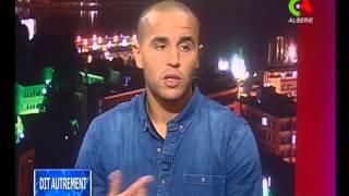 getlinkyoutube.com-Madjib Bougherra parle de ses but et tacle durant le match Algérie 1-0 Burkina Faso