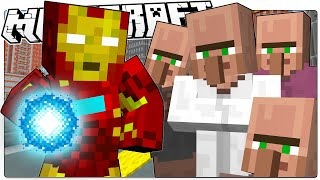 getlinkyoutube.com-Minecraft | IRON MAN SAVES MINECRAFT | Custom Command Adventure (Minecraft Roleplay)
