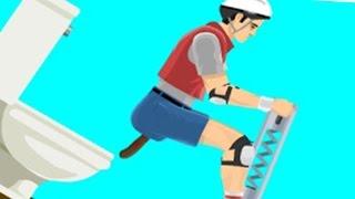 getlinkyoutube.com-A WILD TURD APPEARS?! | Happy Wheels