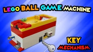 getlinkyoutube.com-LEGO Ball Game Machine 'KEY Mechanism' 300 subs special!