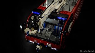 getlinkyoutube.com-Lego Technic Airport Crash Tender