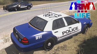 getlinkyoutube.com-Arma 3 Life Police - Pursuit Turns Into Shooting