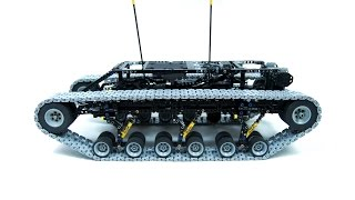 Lego Technic Motorized Ripsaw XL with custom tracks