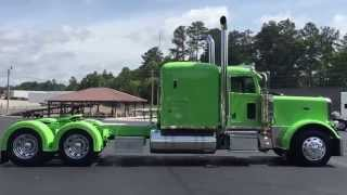 getlinkyoutube.com-2016 Peterbilt 389 Glider Cat C-16 600 H.P.