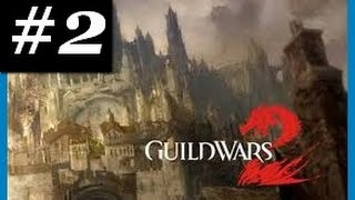Guild Wars 2: Elementalist Gameplay Part 2 - Level 1-5 Queensdale - Free To Play (F2P)