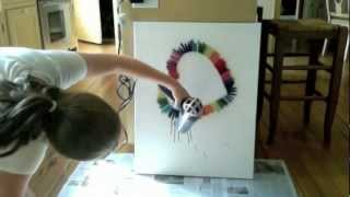 getlinkyoutube.com-Melted Crayon Art