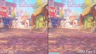 getlinkyoutube.com-BioShock Infinite 4K AMD Fury X Vs GTX 980 TI Frame Rate Comparison
