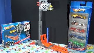 getlinkyoutube.com-Vertical Velocity Hot Wheels Track Set Product Review