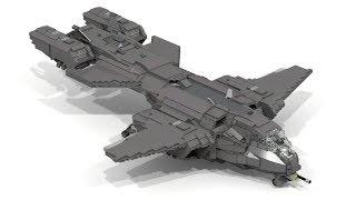 getlinkyoutube.com-Lego HALO Pelican Dropship