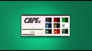 CapeX - Kostenlose Minecraft Capes [OHNE MOD!!]