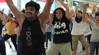 getlinkyoutube.com-Biggest flash mob in bangalore, so that everyone can say it loud! @mantri square