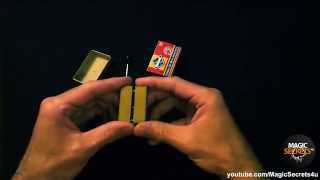 getlinkyoutube.com-Matchbox Penetration Magic Trick EXPLAINED!
