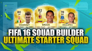 getlinkyoutube.com-FIFA 16 | ULTIMATE STARTER SQUAD | FIFA 16 20K HYBRID SQUAD BUILDER