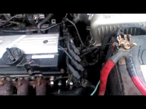 Замена двигателя 1,3 Hyundai Getz на 1,6. Elantra