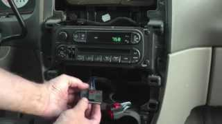 getlinkyoutube.com-2004 Chrysler Town & Country LX center console light fix