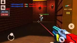 getlinkyoutube.com-[Block Force - Pixel Style Gun Shooter Game] Leo19 cops and robbers
