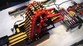 getlinkyoutube.com-Record-breaking LEGO great ball contraption / Rube Goldberg - Brickworld Chicago 2014