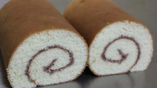 getlinkyoutube.com-젤리롤케이크 / 롤케이크 / 베이킹 / swiss roll / jelly roll cake / baking : 하레
