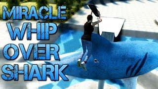 getlinkyoutube.com-Skate 3 - Part 10   MIRACLE WHIP OVER SHARK   Learning to flip