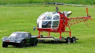 getlinkyoutube.com-HUGE RC VARIO LAMA SA-315B SCALE MODEL TURBINE HELICOPTER FLIGHT DEMO / Pöting Turbinemeeting 2016