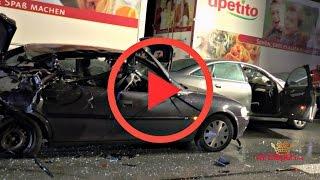 Tödlicher Unfall auf der A45! Lkw erfasst zwei Personen (Freudenberg/NRW)
