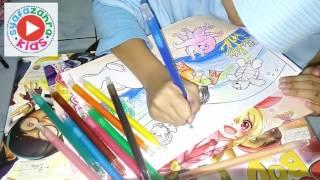 getlinkyoutube.com-Mewarnai Dengan Crayon - Coloring pages for kids
