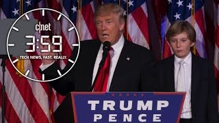getlinkyoutube.com-Here comes the Trump Train! CHOO CHOO! Will the tech industry get on board? (The 3:59, Ep. 165)