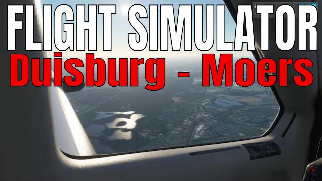 Microsoft Flight Simulator 2020 Duisburg Homberg Moers
