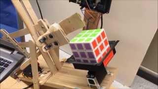getlinkyoutube.com-Autonomous Rubik's cube solver using Pixy camera