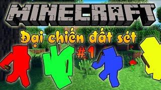 getlinkyoutube.com-Oops Club Minecraft Đại Chiến Đất Sét Tập 1: ĐỘI QUÂN HÙNG MẠNH