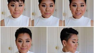 getlinkyoutube.com-ボーイッシュ刈り上げPixiecutに切った理由 Pixiecutで4つの違ったヘアースタイル