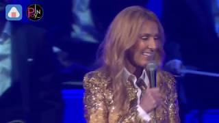 席琳狄翁Celine Dion台北站Taipei第一唱 嗆聲「瑪麗亞」超兇!!!