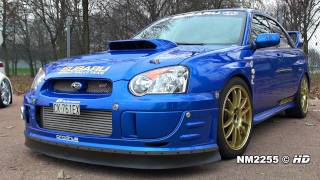 getlinkyoutube.com-500HP Subaru Impreza STi Turbo Anti-Lag Backfiring!!