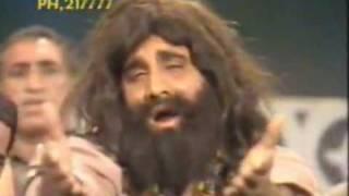 getlinkyoutube.com-Ismail Shahid Pashto Funny Qawwali : Rang Pa Rang