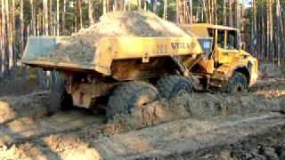 getlinkyoutube.com-Russian roads & Swedish dumper