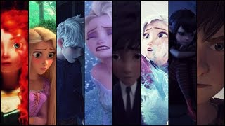 getlinkyoutube.com-Welcome to my life - Non/Disney Multicrossover (The big four, Frozen, Big Hero, Hotel Transylvania)