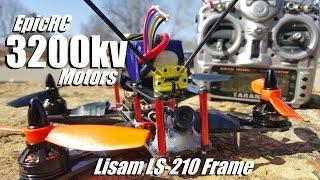 getlinkyoutube.com-LS-210 with EpicRC 3200kv Motors & 30a LittleBee ESCs & 4S 1800mAh