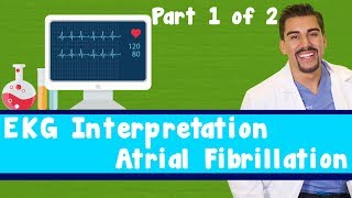 "getlinkyoutube.com-15 Second EKG a fib ""Atrial Fibrillation"" *Part 1 of 2*"
