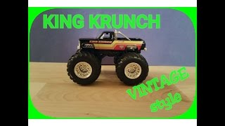 Unboxing Monster Truck King Krunch with the old body style and paint