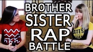 Brother Sister Rap Battle | English Girl Raps In English width=