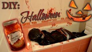 getlinkyoutube.com-Идеи на Хеллоуин | DIY: Halloween