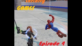 getlinkyoutube.com-Disney Infinity Games: Episode 4 [Black Widow vs. Spiderman]