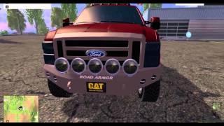 getlinkyoutube.com-FS15 Mod Showcase/review #2 - Trucks and Manual Ignition!