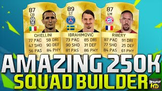 getlinkyoutube.com-AMAZING 250K SQUAD BUILDER!!! Ft. Ibrahimovic & Ribery | FIFA 16 Ultimate Team